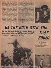 Knight's Of Columbus Rodeo - Denver, Colorado+Genealogy+Booth,Brady,Calen,Carmen