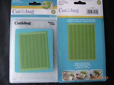 Cuttlebug Herringbone Embossing Folder