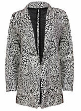 Atmosphere Cotton Patternless Coats & Jackets for Women