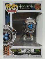 Funko Pop! Games Horizon Zero Dawn #260 Watcher + Pop Protector DAMAGED BOX