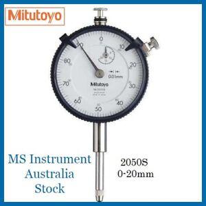 Genuine New Mitutoyo 2050S Dial Indicator 20mm | Australia Stock