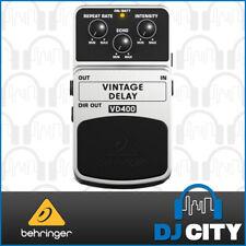 Behringer VD400 Vintage Delay Pedal