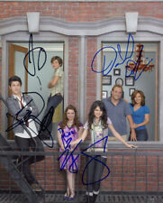 Wizards of Waverly Place (by all 6) signed authentic 8x10 photo COA