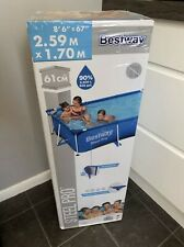 More details for bestway steel pro 8.5ft swimming pool - brand new - fast free delivery 🚚💨