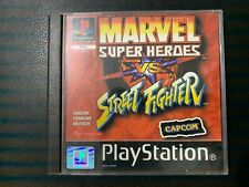 MARVEL SUPER HEROES VS STREET FIGHTER  - PS1 / PLAYSTATION 1 - OVP CIB PAL