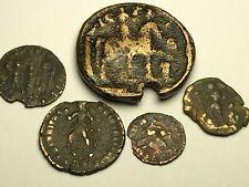 New ListingAncient Auth. 5 Rare$ Roman Coins; 241 Ad. Gordian, 2 Victory & Legion, Dragging