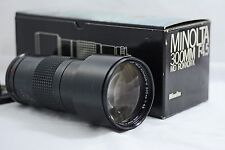 MINOLTA MD 300MM F4.5 TELE ROKKOR-X CAMERA LENS