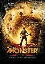 PRE ORDER: MONSTER X - DVD - Region 1