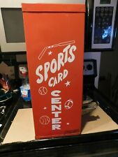 Vintage Sports Card Center Baseball Vending Machine Nice Graphics W/Key