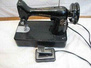 Vintage Spartan by Singer Quilting Sewing Machine Portable 99K No Case Runs