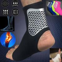 Sn _ Cheville Entorse Bretelles Pieds Support Bandage Achille Tendon Sangle