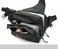 Weihe Sports Waterproof Fishing Tackle Bag Pockets Waist Shoulder Reel Lure Bags