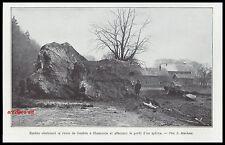 Doc.Ancien Eboulement sur la route Geneve à Chamonix   1932  - 2H