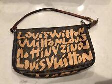 Authentc Louis Vuitton Stephen Sprouse Graffiti Pochette Clutch handbag Monogram