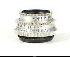 Lens Zeiss Tessar 3,5/5cm 50mm  Red T For Pentax M42
