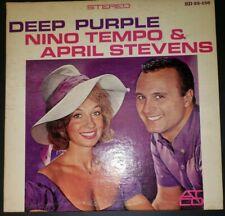 DEEP PURPLE NINO TEMPO & APRIL STEVENS VINYL LP BABY WEEMUS, SWEET AND LOVELY EX