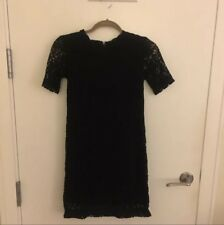 H&m Black Lace Dress Size 6