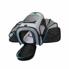 New listing Siivton Airline Approved Pet Carrier, Soft Sided Pet Travel Carrier 4 Sides E.