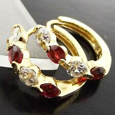 Gold Ruby Fashion Jewellery