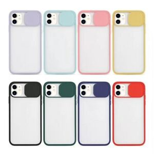 Shockproof Coverage Lens Protector Slide Camera Cover For Apple iphone Model All