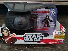 Star Wars Galactic Heroes~~~Kylo Ren & Tie Silencer Ship Action Play Set~~~NIB