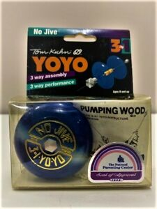 Tom Kuhn No Jive 3-in-1 yo-yo BC NEW IN BOX - BLUE