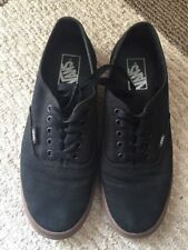 VANS Canvas Low Top Gumsole Casual Shoes Black, Skate Shoes, Unisex Size 7 / 8.5