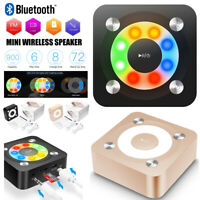 Portable Mini Rechargeable Wireless Bluetooth Speaker HiFi Super Bass Loud speak