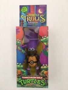 TMNT 1992  Teenage Mutant Ninja Turtle TURTLE TROLL DON Purple Weapon Variant