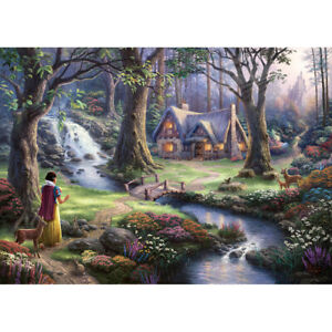 300 Piece Kid Adult Puzzle Fairytale Forest Cottage Jigsaw Educational Toys Gift
