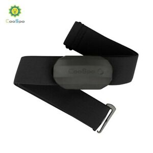 CooSpo Chest Heart Rate Monitor Strap Bluetooth 4.0 ANT+ Heart Rate Sensor Water