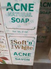 SOFT N WHITE NATURAL ACNE   (SOAP) 200G