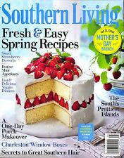 Exceptional Southern Living Magazine May 2016 WINDOW BOXES Great Southern Hair ISLANDS