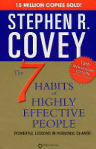 The 7 Habits of Highly Effective People, Stephen R. Covey, New,