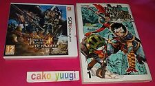 MONSTER HUNTER 4 ULTIMATE NINTENDO 3DS NEUF +  MANGA MONSTER HUNTER EPIC TOME 1