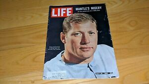 Mickey Mantle New York Yankees 1965 LIFE Magazine