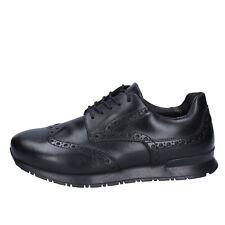 scarpe uomo ROBERTO BOTTICELLI LIMITED 40 classiche nero pelle  BY651-40