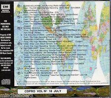 EMI Canada Rare Radio Sampler CD Rare Mixes & Edits - Rolling Stones, April Wine