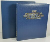 1986 The Presidential First Day Cover Collection 1789-1969 Set (35) Binder/Case
