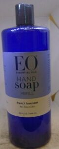 EO Hand Soap French Lavender 32 FL.Oz Refill - 1 ct