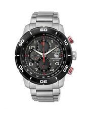 CA0468-51E,CITIZEN Eco-Drive Watch,Chrono,210DayPowerReserve,WR100,12/24hrs,Mens