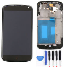 For LG Google Nexus 4 E960 LCD Display Touch Screen Digitizer Glass Frame Repair