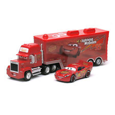 Christmas Pixar Cars NO.95 McQueen Mack Truck 1:55 Toy Loose Birthday Party Gift
