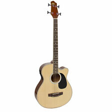 Bcp Acoustic Electric Bass Guitar w/ Equalizer, Truss Rod