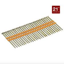 Dewalt 3 x .131 inch Hot Galvanized Framing Nail Gun Nailer 2000 Pack Nails 21°