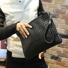 New Fashion Men's Fuax Leather Small Handbag Clutch Envelope  Evening Bag Purse