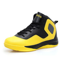 Men's Basketball Atheletic High Top Trainer Sneakers Breathable Shoes Run Zoom