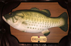 Big Mouth Billy Bass 1999 Gemmy- Works!