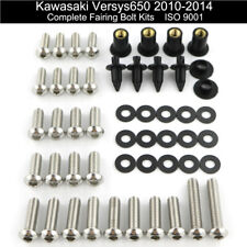 For Kawasaki Versys 650 2010-2014 Stainless Fairing Bolt Kit Bodywork Screws