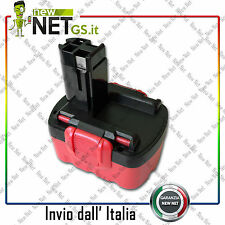 BATTERIA PER BOSCH  BAT025  GSR 18 VE-2 14,4 V  3000 mAh  01037